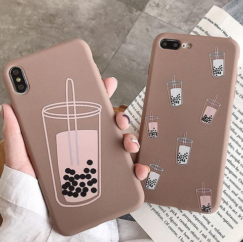 Boba Milk Tea Iphone Case SD01407 - SYNDROME - Cute Kawaii Harajuku Street Fashion Store