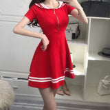 Sailor Zipper Dress SD01163 - SYNDROME - Cute Kawaii Harajuku Street Fashion Store