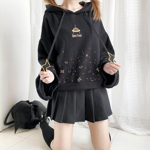 Pre-Order Space Travel Sweater SD01731 - SYNDROME - Cute Kawaii Harajuku Street Fashion Store