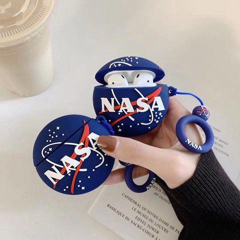 NASA Airpods Case SD01392 - SYNDROME - Cute Kawaii Harajuku Street Fashion Store