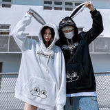 Bunny Street Hoodie SD01607 - SYNDROME - Cute Kawaii Harajuku Street Fashion Store