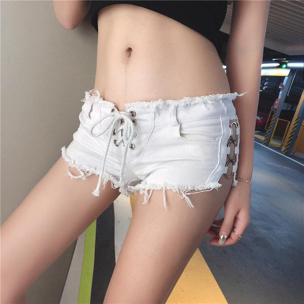 Side Rings Shorts SD00015 - SYNDROME - Cute Kawaii Harajuku Street Fashion Store