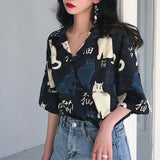 Meow Neko Blouse SD00213