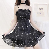 Fairy Stars Chiffon Dress SD00992 - SYNDROME - Cute Kawaii Harajuku Street Fashion Store