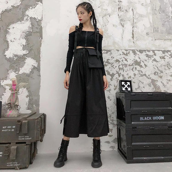 Retro Punk Long skirt SD00647 - SYNDROME - Cute Kawaii Harajuku Street Fashion Store