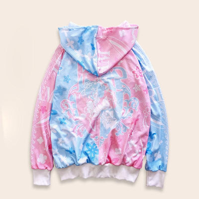 Re:Zero Rem&Ram Waifu Mesh Jacket SD01516 - SYNDROME - Cute Kawaii Harajuku Street Fashion Store