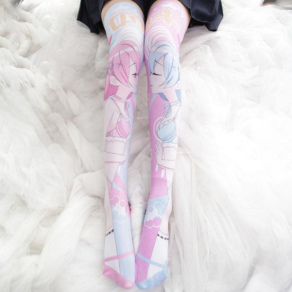 Rem&Ram Thigh High Tights SD01101