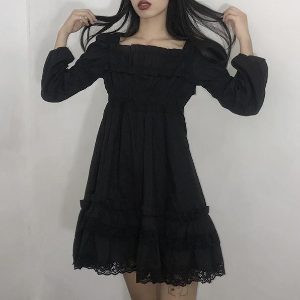 Black Me Lolita Dress SD02289