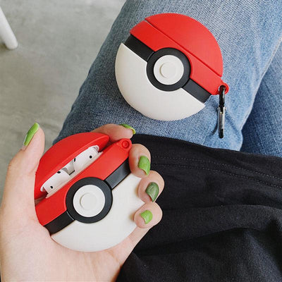 Poke Ball Airpods Case SD00054 - SYNDROME - Cute Kawaii Harajuku Street Fashion Store