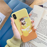 Inu Milk Drinks Iphone Case SD01404 - SYNDROME - Cute Kawaii Harajuku Street Fashion Store