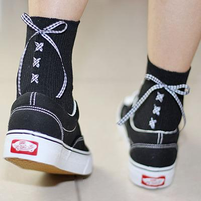 Ribbon Socks SD01958 - SYNDROME - Cute Kawaii Harajuku Street Fashion Store