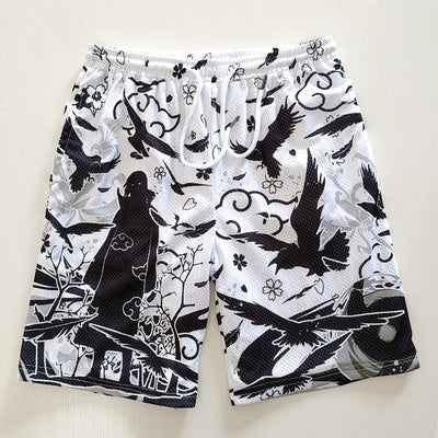 Naruto Sport Shorts SD01506 - SYNDROME - Cute Kawaii Harajuku Street Fashion Store