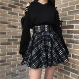 Dark Girl Ribbon Sweater SD01452 - SYNDROME - Cute Kawaii Harajuku Street Fashion Store