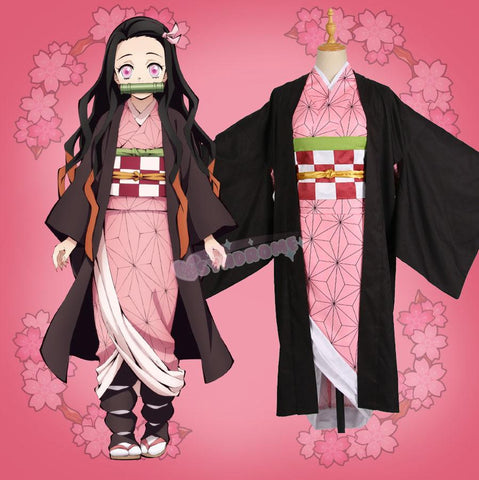 Demon Slayer: Kimetsu no Yaiba Nezuko Kamado Cosplay SD01113 - SYNDROME - Cute Kawaii Harajuku Street Fashion Store