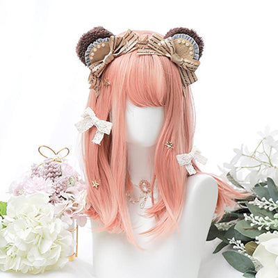 Peachy Soft Wig SD00380 - SYNDROME - Cute Kawaii Harajuku Street Fashion Store