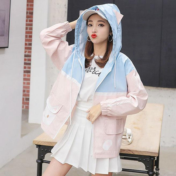 Neko Love Jacket SD02023 - SYNDROME - Cute Kawaii Harajuku Street Fashion Store