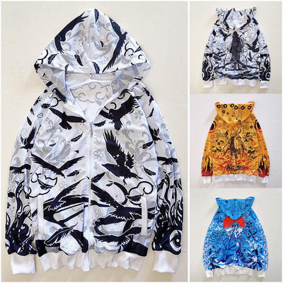 Naruto Mesh Jackets SD01513 - SYNDROME - Cute Kawaii Harajuku Street Fashion Store