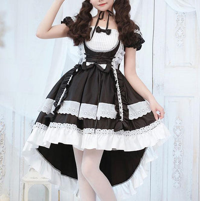Elegant Servant Maid Lolita Dress SD00077 - SYNDROME - Cute Kawaii Harajuku Street Fashion Store
