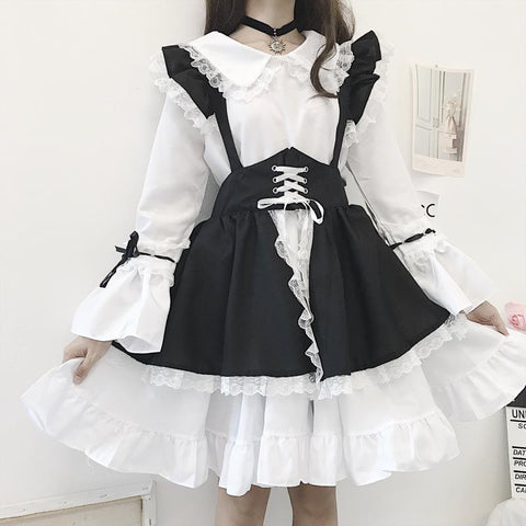 Servant Lolita Dress SD02036 - SYNDROME - Cute Kawaii Harajuku Street Fashion Store