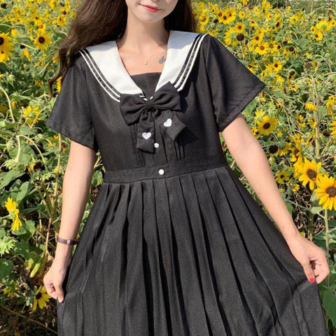 Love Sailor School Uniform Dress SD01223 - SYNDROME - Cute Kawaii Harajuku Street Fashion Store