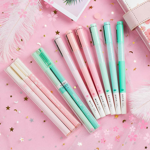 Cherry Blossom Mint Green Pencils SD01362 - SYNDROME - Cute Kawaii Harajuku Street Fashion Store