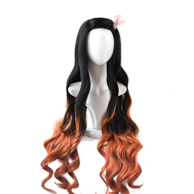 Demon Slayer: Kimetsu no Yaiba Nezuko Kamado Wig SD01122 - SYNDROME - Cute Kawaii Harajuku Street Fashion Store