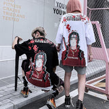 ITACHI T-shirt SD00347 - SYNDROME - Cute Kawaii Harajuku Street Fashion Store