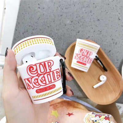 Cup Noodle Airpods Case SD01562 - SYNDROME - Cute Kawaii Harajuku Street Fashion Store