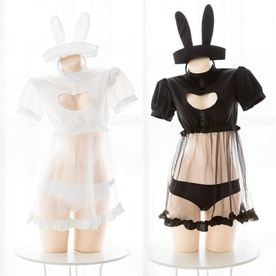 Bunny Hollow Chest Lingerie SD01389 - SYNDROME - Cute Kawaii Harajuku Street Fashion Store