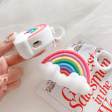 Rainbow Airpod Case SD01528 - SYNDROME - Cute Kawaii Harajuku Street Fashion Store