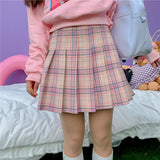 Colorful Plaid Skirt SD01484 - SYNDROME - Cute Kawaii Harajuku Street Fashion Store
