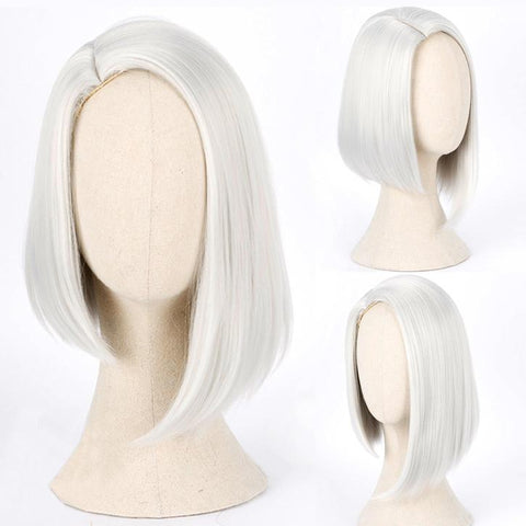 Ashe White Short Wig SD00506 - SYNDROME - Cute Kawaii Harajuku Street Fashion Store