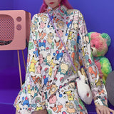 Got to Catch Them All Blouse SD01184 - SYNDROME - Cute Kawaii Harajuku Street Fashion Store