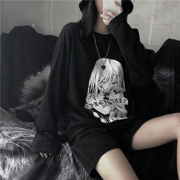 We are Innocent Anime Girl Sweater SD01156 - SYNDROME - Cute Kawaii Harajuku Street Fashion Store