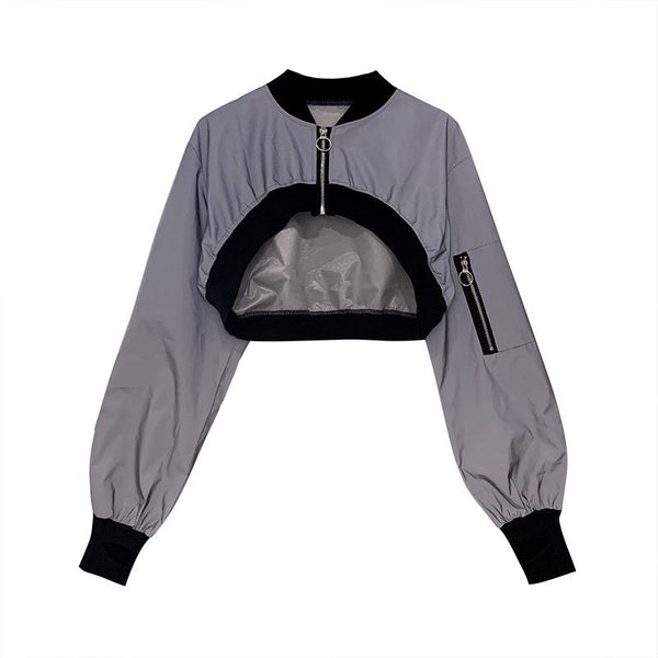 Reflective Half Jacket SD02202
