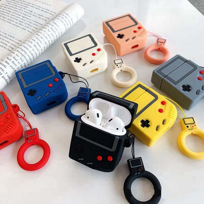 Old School Game Boy Airpods Case SD01402 - SYNDROME - Cute Kawaii Harajuku Street Fashion Store
