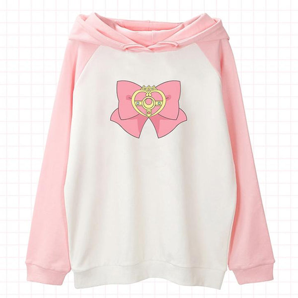 Bow Tie Hoodie SD00919 - SYNDROME - Cute Kawaii Harajuku Street Fashion Store