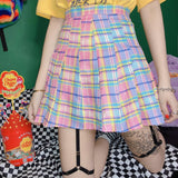 Pastel Pleated Skirt SD00476