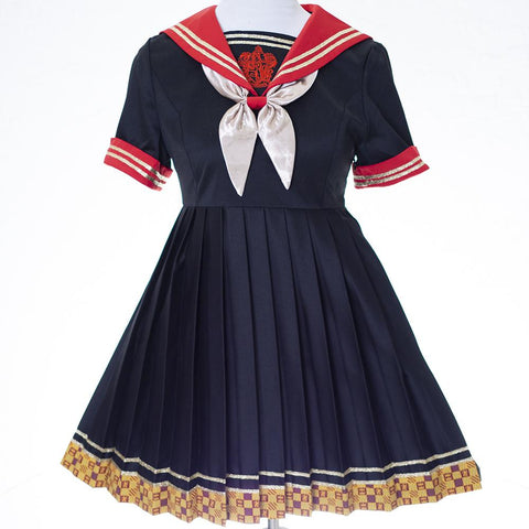 (Pre-Order) Gryffindor/Slytherin/Hufflepuff/Ravenclaw School Uniform MF01000 - SYNDROME - Cute Kawaii Harajuku Street Fashion Store