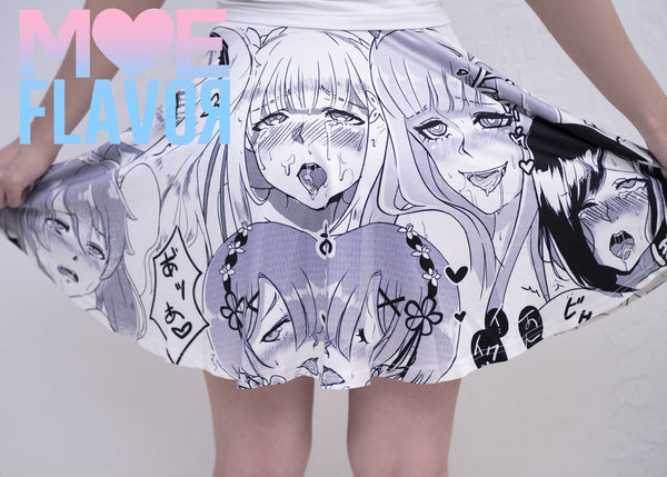 Ahegao Darling in the Franxx Re:Zero Fate Stay Night Skirt MF00350 - SYNDROME - Cute Kawaii Harajuku Street Fashion Store
