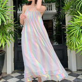 Holographic Rainbow Dress SD01072