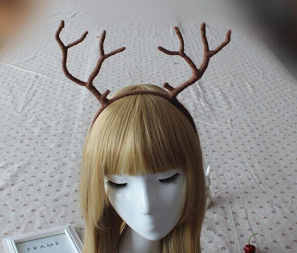 Cute Soft Antlers Headband SD00192 - SYNDROME - Cute Kawaii Harajuku Street Fashion Store
