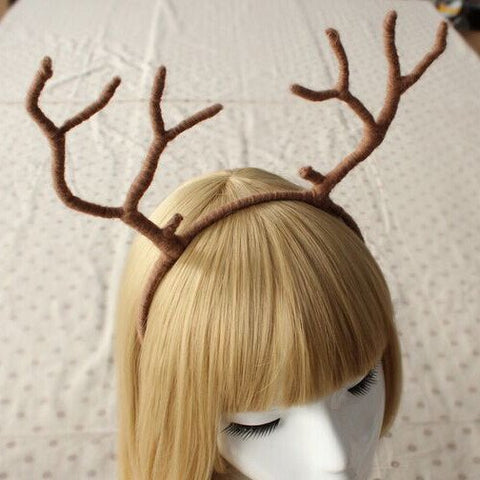 Cute Soft Antlers Headband SD00192