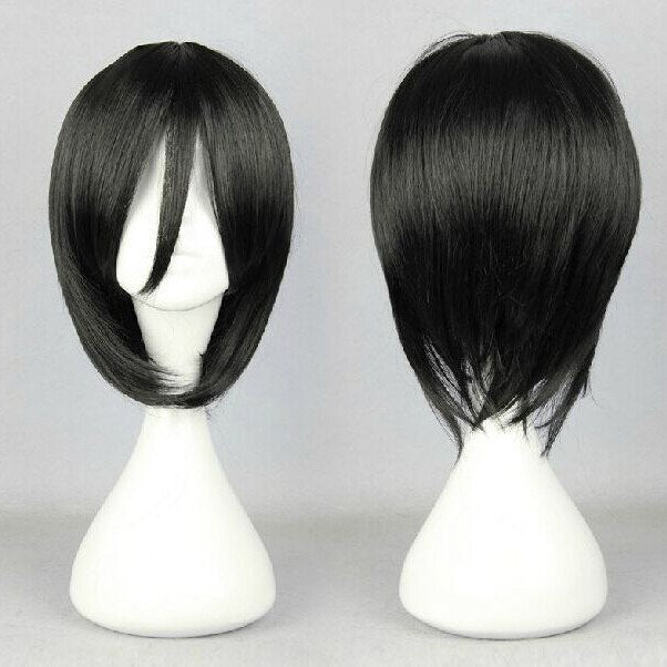 Harajuku Japanese Black Wig SD00265 - SYNDROME - Cute Kawaii Harajuku Street Fashion Store