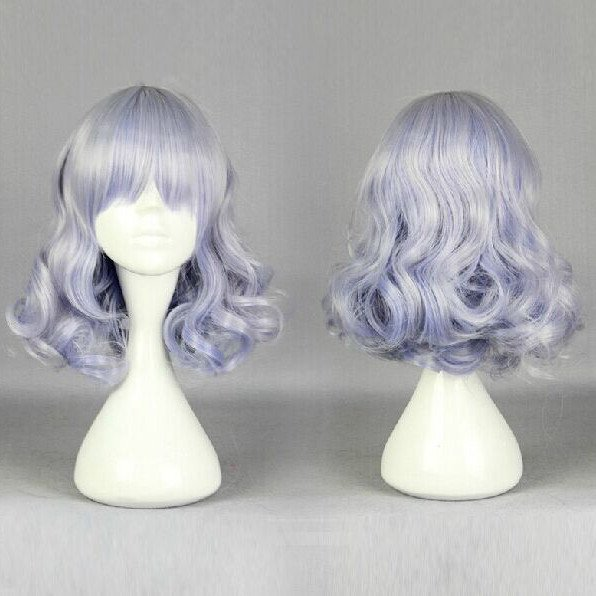 Harajuku Light Purple Short Wig SD00266 - SYNDROME - Cute Kawaii Harajuku Street Fashion Store