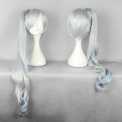 Japanese Medium Silver White Wig SD00326