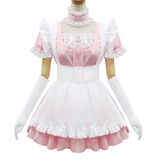 Sweet Lace Ruffle Apron Maid Dress SD00362 - SYNDROME - Cute Kawaii Harajuku Street Fashion Store