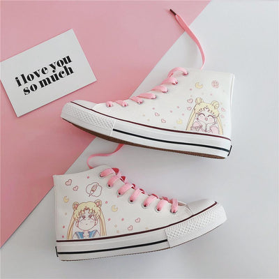 Sailor Moon Joy Shoes SD00317 - SYNDROME - Cute Kawaii Harajuku Street Fashion Store