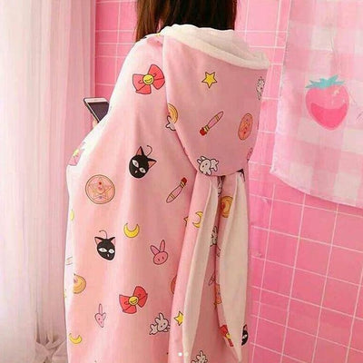 Sailor Moon Shawl And Blanket SD00705 - SYNDROME - Cute Kawaii Harajuku Street Fashion Store