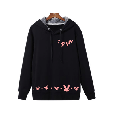 Overwatch D.VA DVA Black Hoodie Sweater SD02630 - SYNDROME - Cute Kawaii Harajuku Street Fashion Store